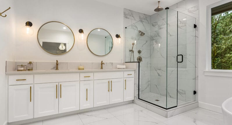 Custom Bathroom Design Godfrey IL